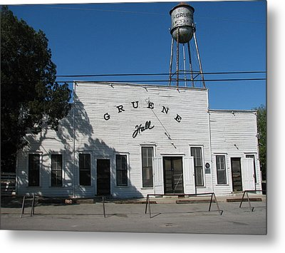 Texas Oldest Dance Hall Metal Print by Shawn Hughes