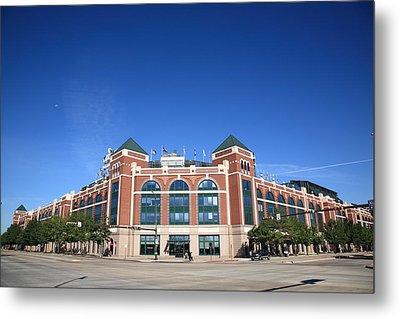 Texas Rangers Ballpark In Arlington Metal Print
