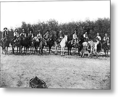 Texas Rangers Metal Print by Underwood Archives
