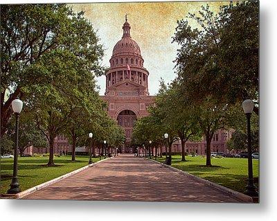 Texas State Capitol IIi Metal Print