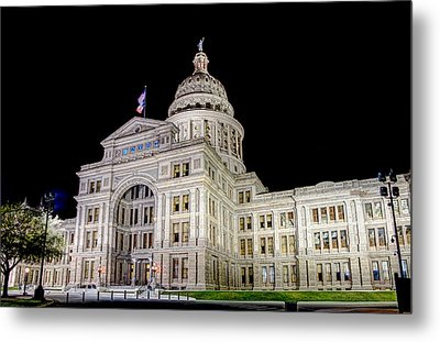 Texas State Capitol Metal Print by Tim Stanley