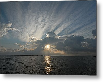 Texas Sunrise Metal Print by Susan D Moody