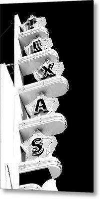Texas Theater Metal Print by Darryl Dalton