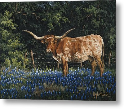 Texas Traditions Metal Print