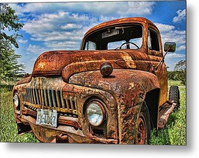Metal Print featuring the photograph Texas Truck by Daniel Sheldon