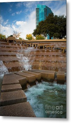 Texas Water Gardens Metal Print by Inge Johnsson