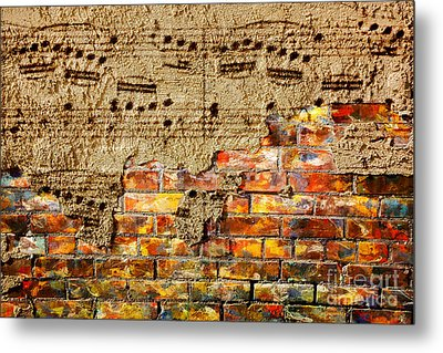 Texture And Timbre Metal Print by Lon Chaffin
