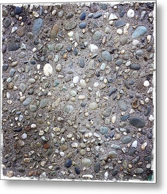 Textured Background Metal Print by Les Cunliffe