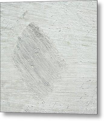 Textured Stone Background Metal Print