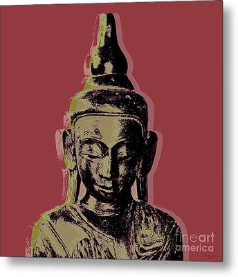 Thai Buddha #1 Metal Print by Jean luc Comperat