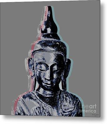 Thai Buddha #2 Metal Print by Jean luc Comperat