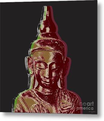 Thai Buddha #3 Metal Print by Jean luc Comperat