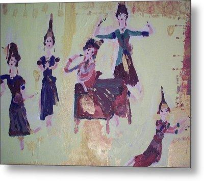 Thai Dance Metal Print by Judith Desrosiers