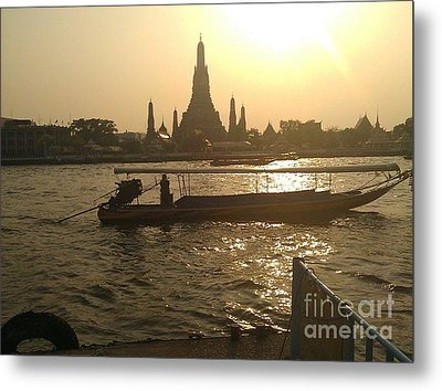 Thai Sunset Metal Print by Ted Williams