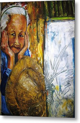 Thai Woman Metal Print by Doris Cohen
