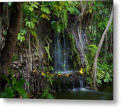 Thailand Waterfall Metal Print by Mike Lee