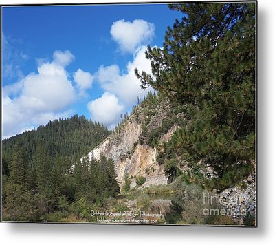Clouds Of Hearts Metal Print by Bobbee Rickard