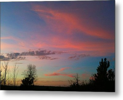 Metal Print featuring the photograph Thankful For The Day by Linda Bailey