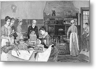 Thanksgiving, 1890 Metal Print by Granger