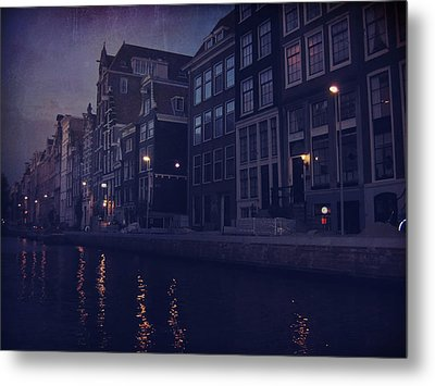 That Evening In Amsterdam Metal Print by Laurie Search