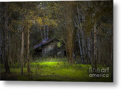 That Old Barn Metal Print by Marvin Spates