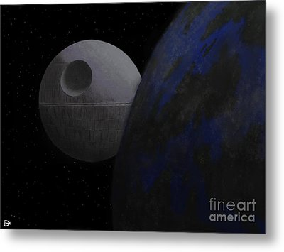 ...that's No Moon... Metal Print