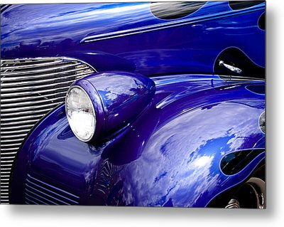The 1939 Chevy Coupe Metal Print by David Patterson