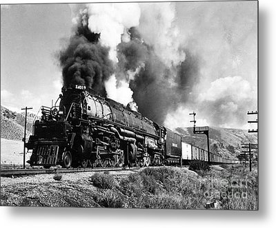 The 4019 Big Boy Metal Print