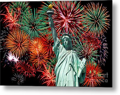 Independance Day Metal Print