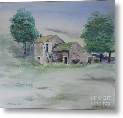 The Abandoned House Metal Print