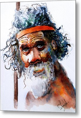 The Aborigine Metal Print