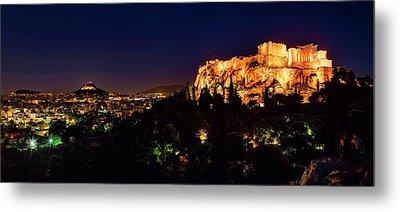 The Acropolis Metal Print