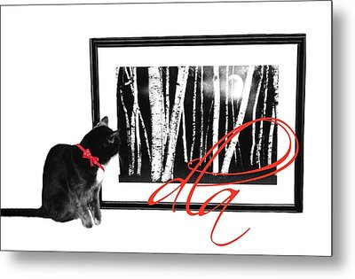The Capture Metal Print by Diana Angstadt