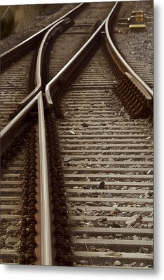 The Age Of Rail Metal Print by Odd Jeppesen