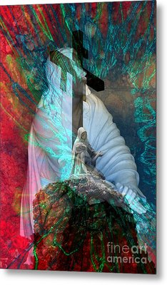 The Agony And The Ecstacy Metal Print by Rick Rauzi