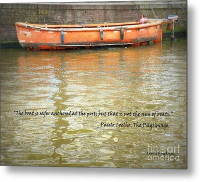 The Aim Of Boats Metal Print by Lainie Wrightson