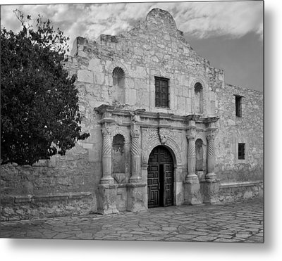 The Alamo Metal Print by David and Carol Kelly