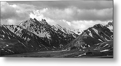 The Alaskan Range Metal Print