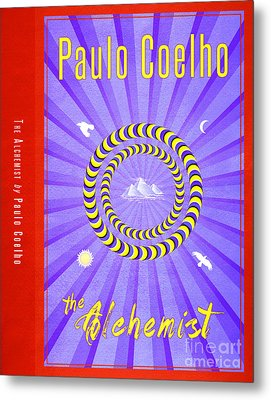 The Alchemist Book Cover Poster Art 2 Metal Print by Nishanth Gopinathan