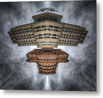The Aldred New York Spacecraft Metal Print