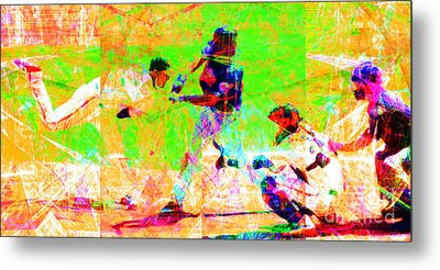 The All American Pastime 20140501 Long Metal Print