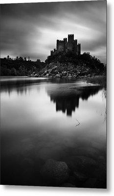 The Almourol Castle Metal Print by Jorge Maia