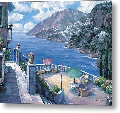 The Amalfi Coast Metal Print