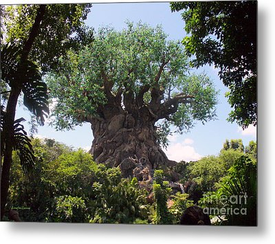 The Amazing Tree Of Life  Metal Print