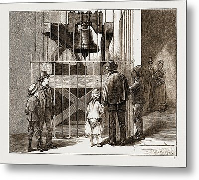 The American Centennial Exhibition, 1876 Liberty Bell Metal Print