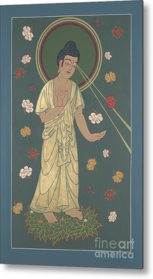 The Amitabha Buddha Descending 247 Metal Print