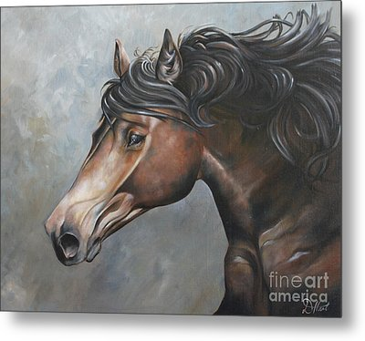 The Andalusian Metal Print