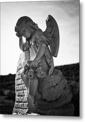 The Angel Of Bodie Metal Print by Troy Montemayor