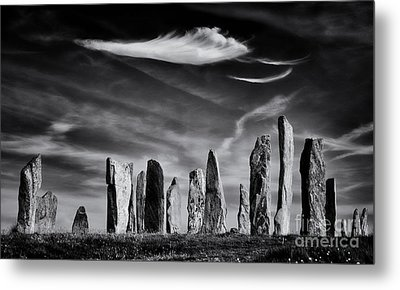 The Angel Of Callanish  Metal Print by Tim Gainey