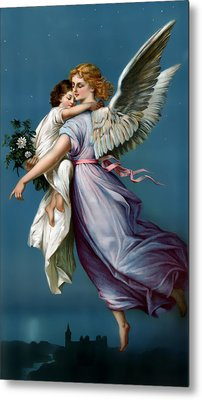 The Angel Of Peace For I Phone Metal Print